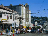 The Castro District, a Favorite Area for the Gay Community, San Francisco, California, USA Reproduction photographique par Fraser Hall