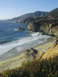 Ninety Miles of Rugged Coast Along Highway 1, California, USA Reproduction photographique par Christopher Rennie