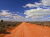 Outback Road, Menindee, New South Wales, Australia, Pacific Fotografie-Druck von Jochen Schlenker