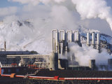 Geo-Thermal Power Plant, Svartsengi, Iceland Photographic Print by Kim Hart