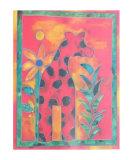 Giraffe Prints by Lisa V. Keaney