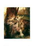 Lament for Icarus Gicléetryck av Herbert James Draper