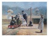 Model Railway Posters av Louis Legrand