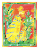 Tigers Prints by Lisa V. Keaney