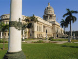 El Capitole, Now the Science Museum, Havana, Cuba Reproduction photographique par J P De Manne