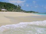 Johnson's Point Beach, South-West Coast, Antigua, West Indies, Caribbean Reproduction photographique par J P De Manne