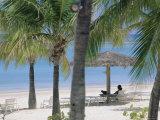 Long Island, North-East Coast, Antigua, Caribbean Reproduction photographique par J P De Manne