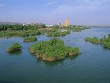 River Niger, Bamako, Mali, Africa Photographic Print by Bruno Morandi