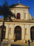 Trinity Church, Trinidad, Sancti Spiritus, Cuba Reproduction photographique par J P De Manne