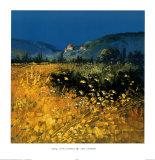 Spring, Aix Provence Plakat av John Horswell