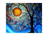 Blue Essence Plakater af Megan Aroon Duncanson