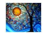 Blue Essence Print by Megan Aroon Duncanson