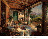 View from the Veranda Prints by Leon Roulette
