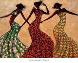 Rhythm Poster von Monica Stewart