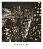 East 40th Street, New York, 2006 Kunstdrucke von Michael Kenna