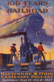 100 Years Railroad Poster