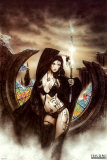 Stained Posters by Luis Royo
