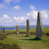 Ring of Brodgar (Brogar), Mainland, Orkney Islands, Scotland, UK,Europe Lámina fotográfica por Michael Jenner