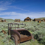 Ghost Town of Bodie, California, USA Photographic Print by Tony Gervis