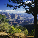 View Over the Grand Canyon, Unesco World Heritage Site, Arizona, United States of America (USA) Photographic Print by G Richardson