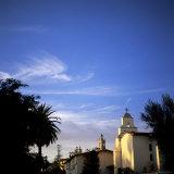 Santa Barbara Mission Founded in 1786, Santa Barbara, California Photographic Print by Aaron McCoy