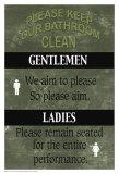Badeværelse Poster af Marilu Windvand
