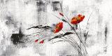 Bloemendroom VI Schilderijen van Isabelle Zacher-finet