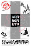 No Regrets: Snow Boarder Poster