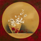 Bouquet de Fleurs I Poster von Bernadette Triki