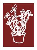 Vase de fleurs Sérigraphie par Nicolas Le Beuan Bénic