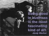 Good in business Art par Billy Name