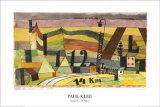 Station L 112, c.14 Km Prints by Paul Klee