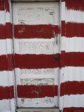 Red and White Painted Door, Arizona Photographic Print by Dawn Kish