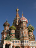 Saint Basil's Cathedral, Moscow, Russia Fotografisk tryk af John Burcham