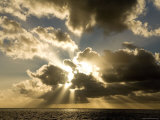 Sunset over the Pacific Fotografisk trykk av Tim Laman