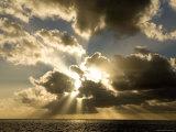 Sunset over the Pacific Fotografie-Druck von Tim Laman