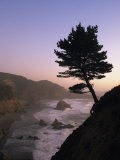 Scenic View of the Oregon Coast at Twilight Photographic Print by Phil Schermeister