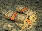 U.S. Paper Money Fotografisk tryk af Peter Krogh