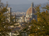 View of Duomo Santa Maria del Fiore, Florence, Italy Reproduction photographique par  Brimberg & Coulson