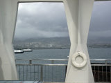 View Off the Monument of Pearl Harbor, Hawaii Photographic Print by Stacy Gold