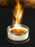 Flambeed Crema Catalana Lámina fotográfica por Armin Zogbaum