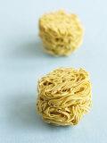 Two Noodle Nests Fotografisk tryk af Dave King