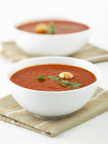 Two Bowls of Tomato Soup Photographic Print by Matt Johannsson