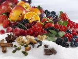 Assorted Fruit, Spices and Sugar Fotografie-Druck von Karl Newedel