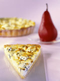 Tarte Auvergne with Roquefort Photographic Print by Ulrike Koeb