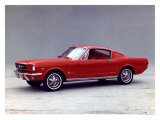 1965 Ford Mustang 2+2 Fastback Lámina giclée