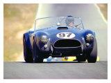 1963 Riverside Race Lámina giclée