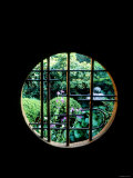 View from the Window, Tentokuin Temple, Kyoto, Japan Photographic Print