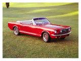 1966 Ford Mustang Convertible Lámina giclée