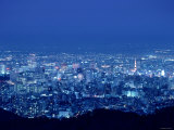 Night View of Sapporo Fotoprint
